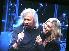 Barry Gibb & Olivia Newton John