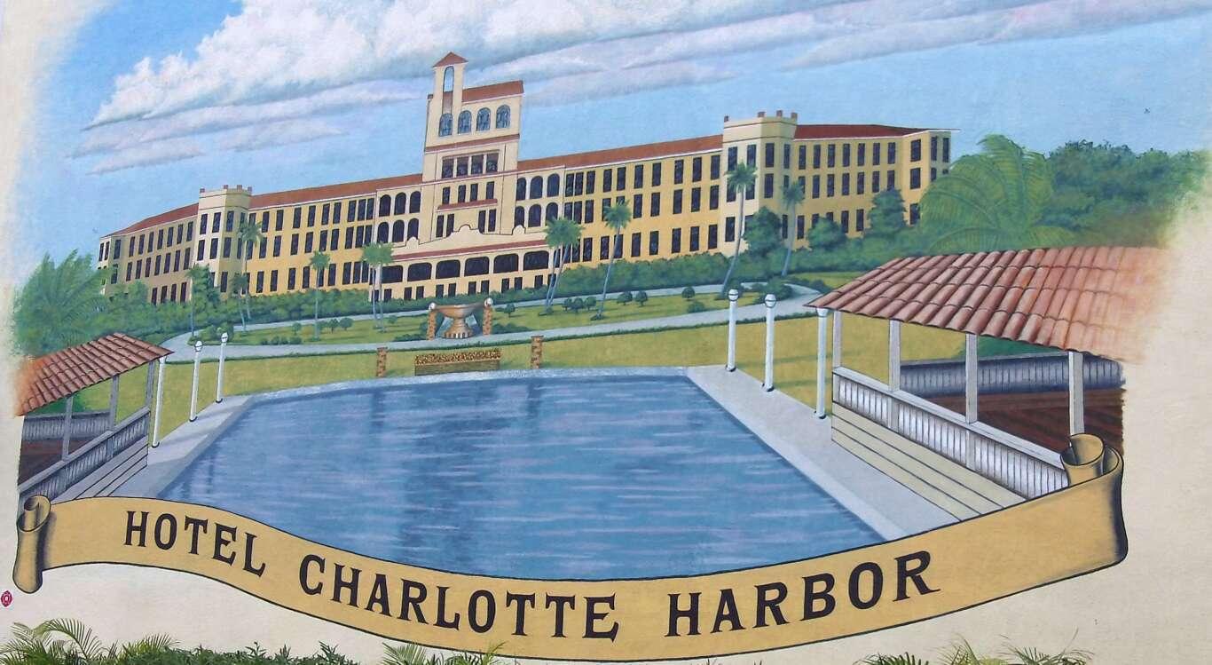 Hotel Charlotte Harbor Mural